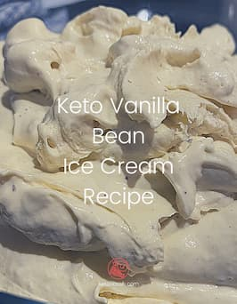 Decadent Keto Vanilla Ice Cream – Carnivore friendly