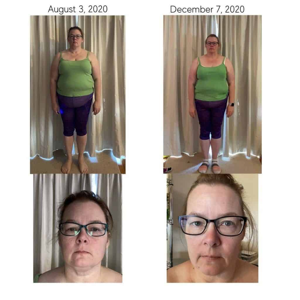 ketovore journey weight loss progress pictures month 4