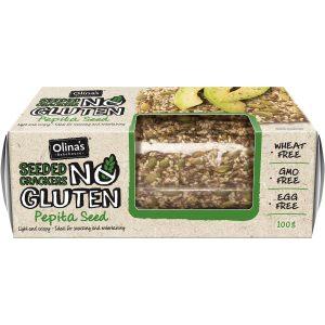 keto products australia Olina's Bakehouse seeded crackers Pepita Seed