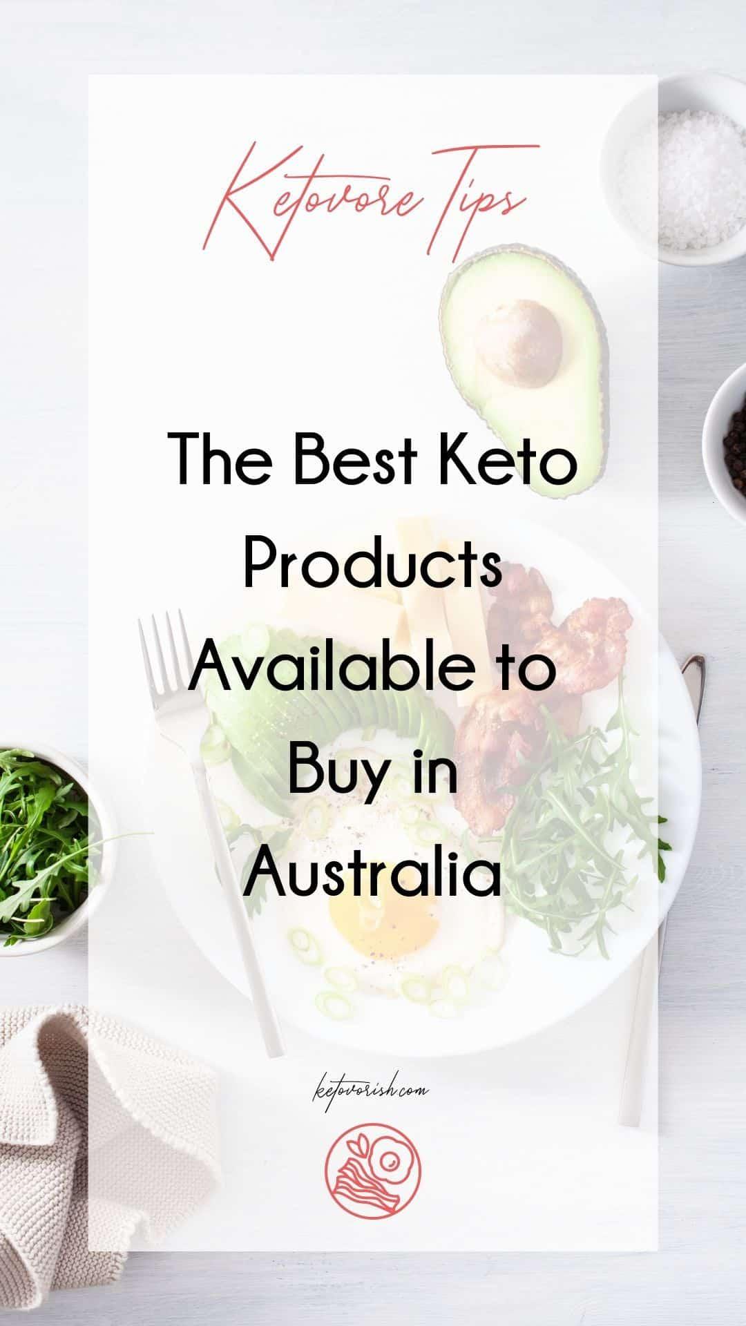 keto supplies Australia